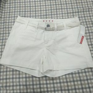 Elle shorts with matching belt | 2 | NWT
